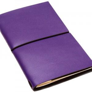 Блокнот Egolibro из кожи (фиолетовый)