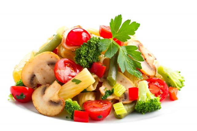 паста Тортелльони с овощами понравится тем, кто придерживается строгого поста