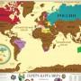 "Скретч-карта мира ""Travel Map"""
