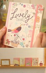 Записная книга 'Lovely Note' ver.2 - Lady Desidia