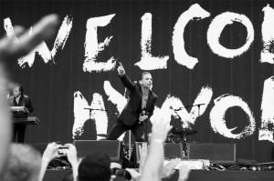 В Киеве выступили легендарные Depeche Mode. Фото