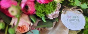Обзор новой цветочной студии Flora Contora: вызов банальным букетам