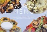 Новое грибное меню в ресторане Старокиевский и Cafe 17