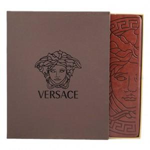 Оригинальный унисекс чехол для ipad 4 от Versace (brown leather)