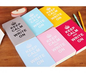 Блокнот Keep Calm And Write On