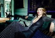 Кейт Мосс превратилась в элегантную восточную женщину
