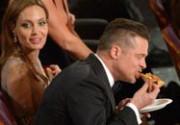 Звезды перекусили пиццей прямо во время церемонии вручения «Оскара»