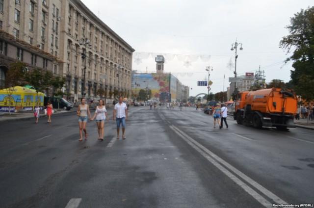 Майдан, субботник, Киев