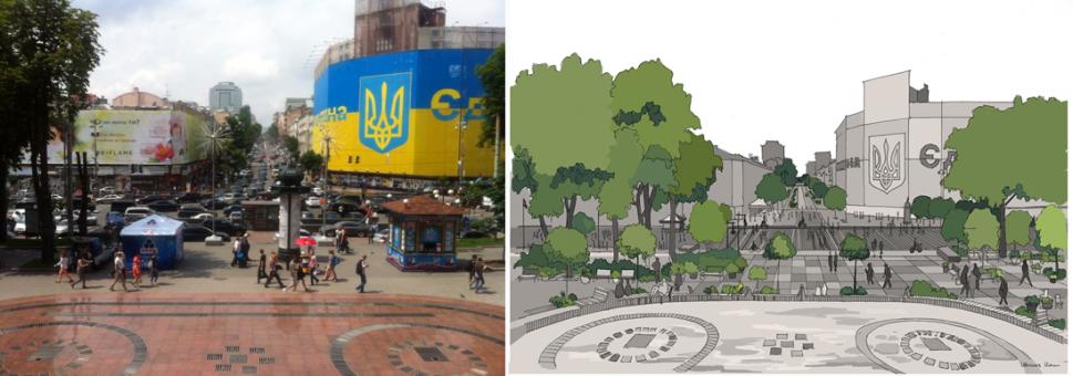 Майдан, Киев, Крещатик, Кац, Варламов
