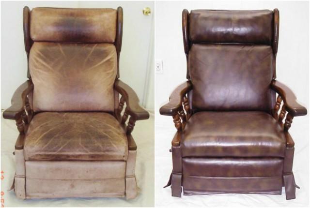 Новая жизнь кожаной мебели