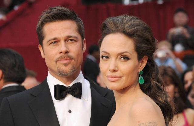 Анджелина и Бред