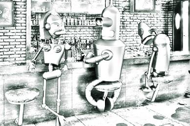 Флирт в большом городе: The BAR Есть ли флирт после The бокала?
