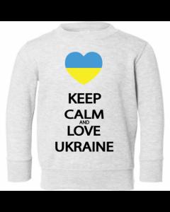 """Детский свитер """"Keep calm - Love Ukr"""""""