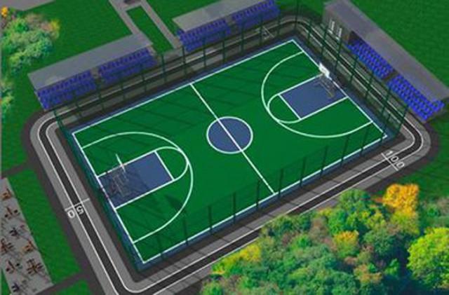Стадион будет окружен скверами
