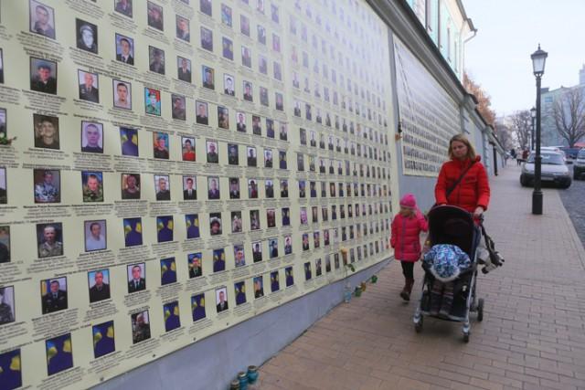 Стена на Андреевском спуске. Фото: С. Николаев