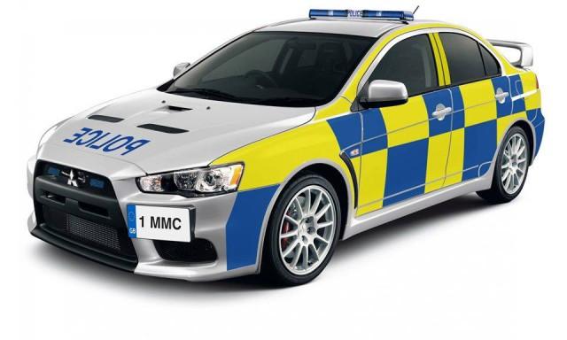 Английская патрульная машина