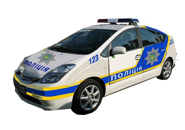 Один из эскизов патрульной машины