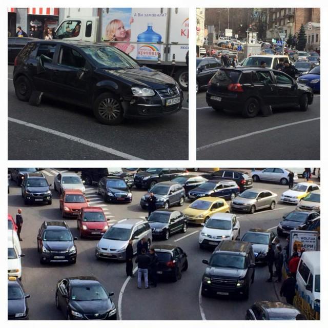 Стрельба началась на улице Городецкого, а продолжилась на Бессарабке