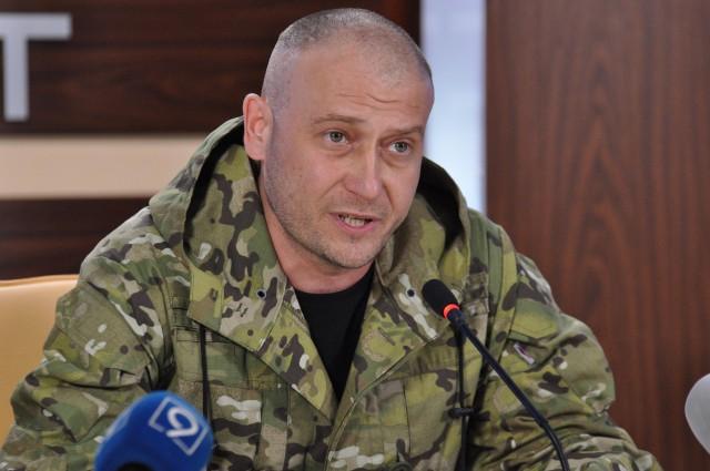 Дмитрий Ярош, глава генштаба