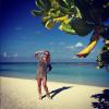 Анна Семенович отдыхает на Мальдивах