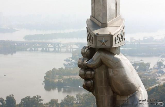 На щите памятника может появиться тризуб