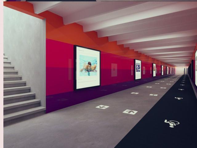 Проекты оформления подземных тоннелей разработали студенты
