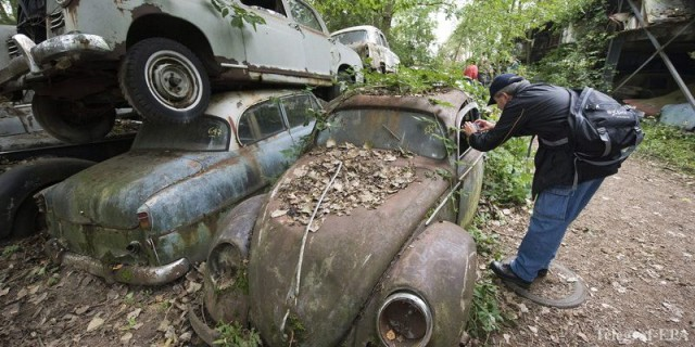На сегодняшний день в столице насчитывается более 1000 ржавых неиспользуемых автомобилей