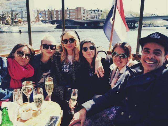 LOBODA провела несколько дней в столице Нидерландов