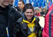 Руслана исполнила рок-версию гимна Украины перед боем Владимира Кличко