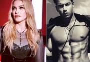 Мадонна оценила кубики пресса молодого манекенщика