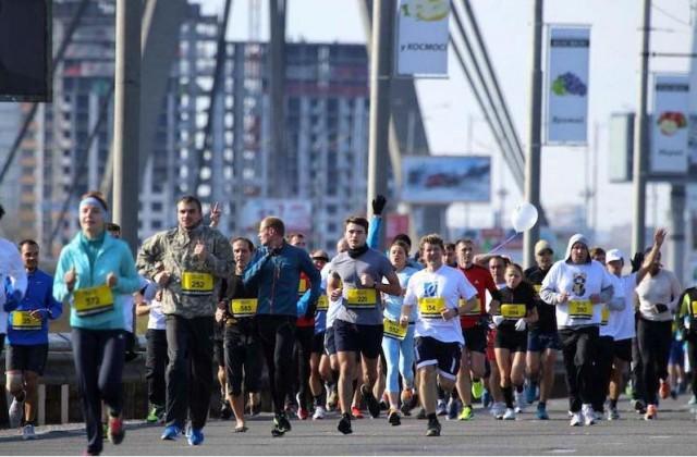 EuroRun 2015 старт от Михайловской площади 16 мая. Фото facebook.com/Power-Effect-Sports-Event