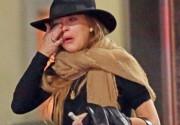 Линдсей Лохан расплакалась во время встречи с бывшим возлюбленным