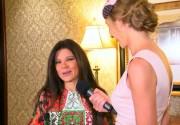 Руслана прокомментировала откровенное платье, которое надела на бой Кличко