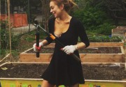 Линдси Лохан показала снимок с общественных работ