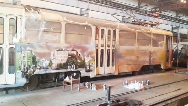 Расписной вагон презентуют 29 мая