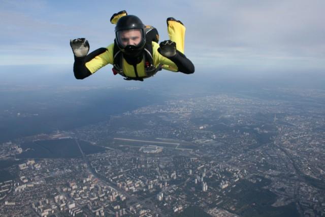 Киев с высоты человеческого полета