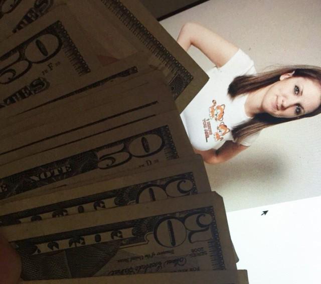 «Девушка» поддельная, деньги — настоящие
