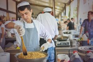 В Киеве прошел 11 фестиваль Уличной Еды. Фотоотчет