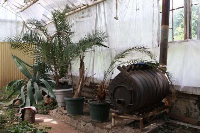 """Печка в """"тропиках"""". Отапливают зимой только дровами."""