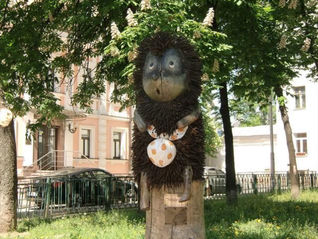 10 июля скульптуру уберут с ее привычного места в сквере