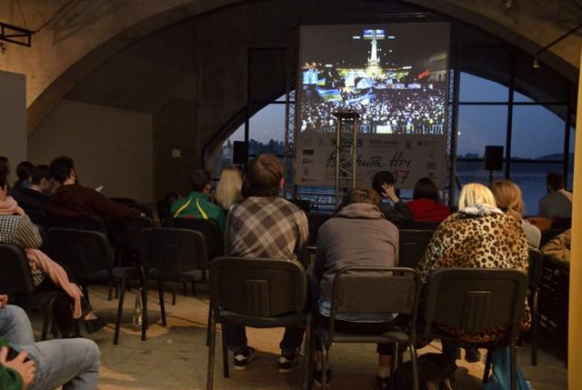 """Кинофестиваль """"Открытая ночь - дубль 18"""" 26 июня на Арт-причале. Фото opennight.org.ua"""