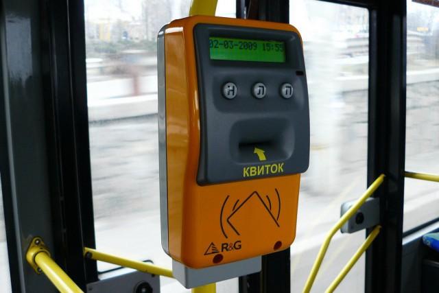 В Киеве продолжается внедрение единого электронного билета для всех видов общественного транспорта