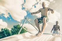Crazzzy Jump Party на Трухановом острове: спорт, аттракционы, диджеи и мокрые майки