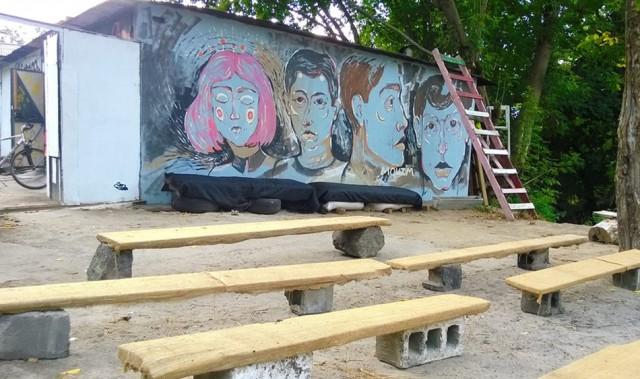 В LabGarage можно еще и насладиться уличным искусством. Фото организаторов