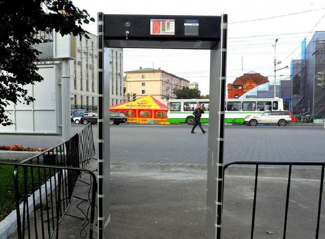 В Министерстве внутренних дел изучат возможность применения металлоискателей на улицах города
