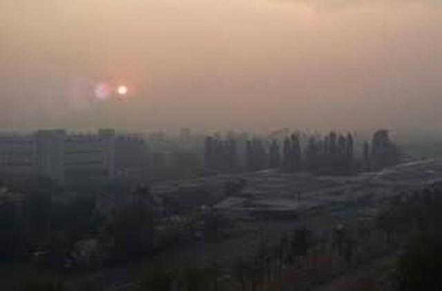 За выходные едкий дым над Киевом развеялся полностью