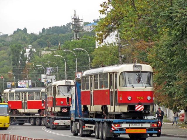 С начала года Киев получил 23 трамвая