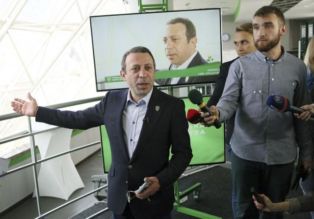На Майдане открылся офис городского самоуправления