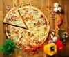 При заказе пиццы, вторая на выбор в подарок