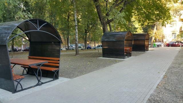 Киевляне раскритиковали дизайн альтанок